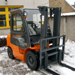 Fork-lift trucks second-hand shop